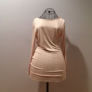 NWT Woman's open back fitted dress